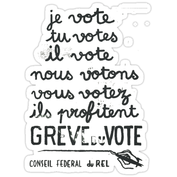 we vote - they profit: french revolution poster by bamanofski