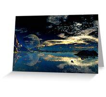 Sundown - Geesh Lake Greeting Card