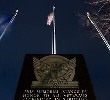 A Veteran's Memorial by Pete Nunweiler