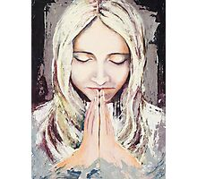 A Prayer... Photographic Print