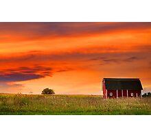 Farm Landscape Photographic Print