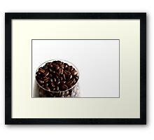 Coffee is my Aphrodisiac Framed Print