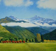 Mount Aspiring in Autumn by Dai Wynn