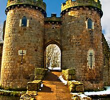 Whittington Castle #3  by Sheila Laurens