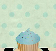 Delicious cupcake by Paige Turner