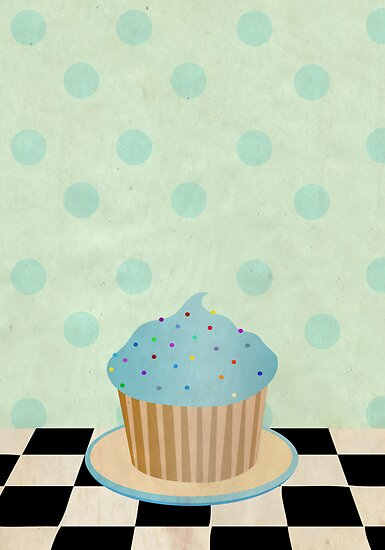 Delicious cupcake by Paige Hally