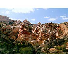 Grand Staircase - Escalante Red Rocks Photographic Print
