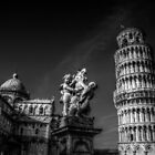 Piazza dei Miracoli - The Leaning Tower of Pisa by LauraBenassi
