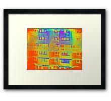 Ashfield Valley Facade Framed Print