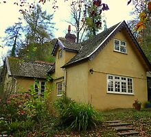 Chocolate Box Cottage by Kevin Cotterell