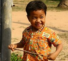 Siem Reap - Child by Trishy