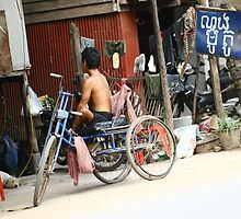 Siem Reap everyday life by Trishy