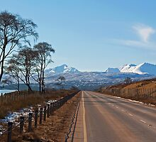 Torridon mountain range by Panalot