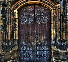 14th Century Door by Yhun Suarez