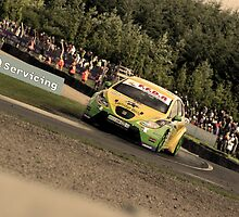 Gordon Sheddon - BTCC Knockhill by Ross Williams