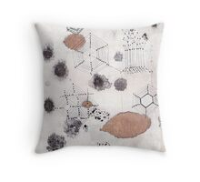 Cellular Landscape Throw Pillow