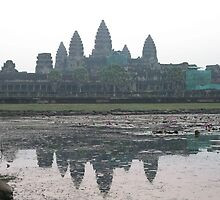 Angkor Wat - Sunrise by Trishy