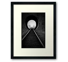 Train Tracks  Framed Print