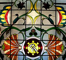Stained Glass Window by phil decocco