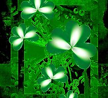 Shamrocks by Dana Roper