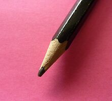 Pencil with Pink by eramophla