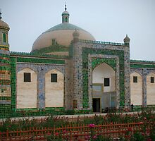 Haja tomb - Kashgar China by Speedy