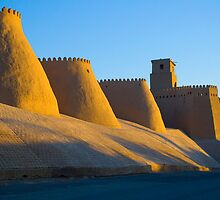 Khiva old city walls - Uzbekistan by Speedy