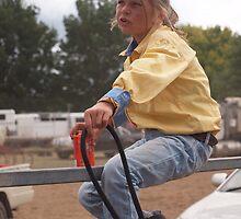 Little Jillaroo Taralga rodeo 2010 by shippy56
