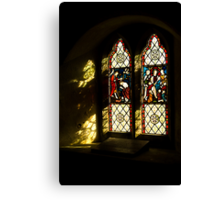 Windows and Shadows Canvas Print