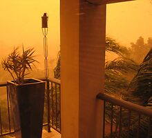 Dust Storm 1 by Cheryl Parkes