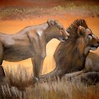 Lions by Cherie Roe Dirksen