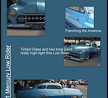 "1951 Mercury  ""The Low Rider""  by TeeMack"