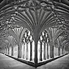 Cloisters at Canterbury Cathedral by Bob Culshaw