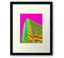 Parkhill popart (part 5 of 6) Framed Print