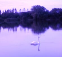 Swan Lake in Blues by anaisnais
