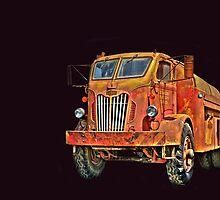 Water Truck  from Corvallis Oregon by pdsfotoart