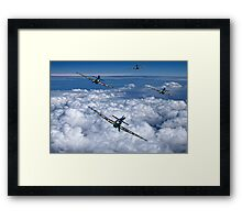 Hurricanes On Your Tail Framed Print