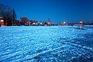 Frozened Bay, Lake Deschenes by Yannik Hay