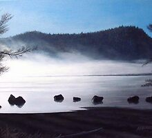 Campbell Lake by A. F. Branco