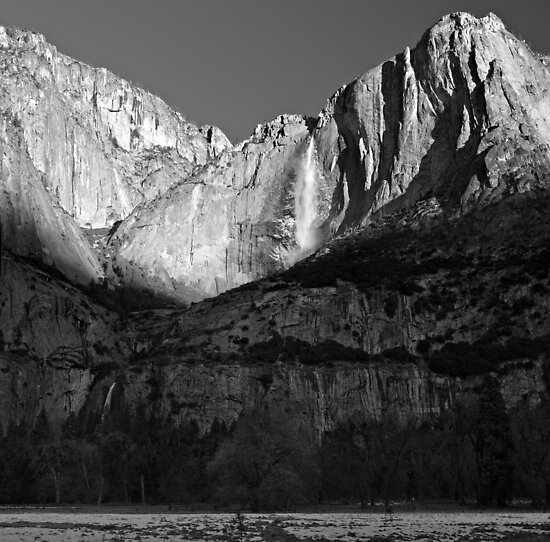 Yosemite Valley Winter Panorama by Zane Paxton