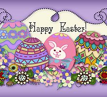 Happy Easter by Cherie Balowski
