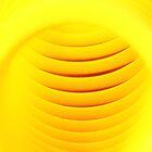 Yellow Abstract by Rita Ballantyne