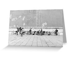 Soccer game Greeting Card