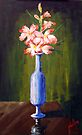Glads on the Table by Jim Phillips