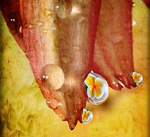 Tropical Relection by Ann  Van Breemen