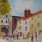 Canterbury, near the cathedral by Beatrice Cloake
