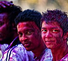 Holi Colours!! by Vikram Franklin