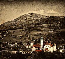 My little town by Kurt  Tutschek