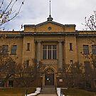 Granite County Montana Court House by Bryan D. Spellman