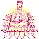 KUAN YIN - Bodhisattva of Love, Mercy and Compassion by whittyart